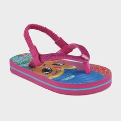 1959fb2b2734 Disney Toddler Girls  Shimmer and Shine Flip Flop Pink