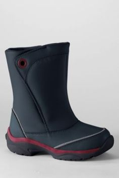 Kids' Snow Flurry™ Boots from Lands' End size 11.  first choice color is grey, second choice color is black