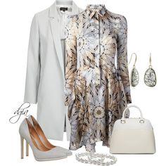ALBERTA FERRETI Floral Print Shirt Dress
