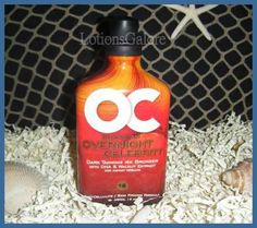 Tanning Lotion - Overnight Celebrity     Has a lot of bronzer in it!