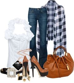 """Checkers"" by lilpudget ❤ liked on Polyvore"