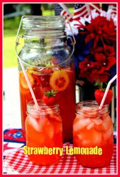 Sweet Tea and Cornbread: Strawberry Lemonade!