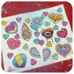 Friday the 13th Special! Each design for only $60. Up to 3 candy hearts for $60. $25 for each additional candy heart. Call now to set up your appointment with Gabby. 612-379-4455. #fridaythe13th #tattoospecial #stabbygabby #steadytattoo #minneapolis #minnesota #mpls #mn #bartsimpson #valentine #valentinetattoo #donutheart #bootyheart #booty #asstat #trolldoll #trolltattoo #vampire #bfftattoo #hearttose #heartgem #pizzabutt #pizzabooty #candyhearts #sweethearts
