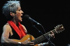 Baez performs at the Fes Festival of World Sacred Music in Morocco in 2012.