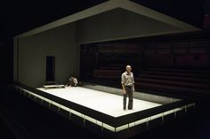 Ivo van Hove - Arthur Miller's A View From the Bridge - The London Young Vic Theater, Theatre Stage, Set Design Theatre, Stage Design, Ivo Van Hove, Bühnen Design, Young Vic, Design Research, Stage Set