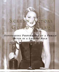 Jennifer Lawrence... Loved her in Hunger games loved her even More in Silverlinings playbook :)