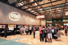 Expo Hall, Cornell Cup USA presented by Intel