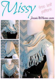 Missy ~ free knit pattern by Jessie At Home