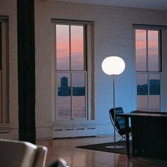 Flos GLO-BALL F1 floor lamp; Modern Designer Lighting by Flos Lighting  - Form Plus Function
