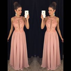 Cheap dresses evening dresses, Buy Quality dress fuchsia directly from China dress a dress Suppliers: Elegant Evening Party Dress Halter Neck Sleeveless A-line Chiffon Long Prom Dress NM 616 Gala Dresses, Event Dresses, Homecoming Dresses, Formal Dresses, Sweet Dress, Pretty Dresses, Party Dress, Dress Up, Gowns