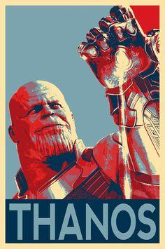 Thanos Illustration -Avengers Infinity War Endgame Marvel Film Pop Art Superhero Movie Comicbook Home Decor in Poster Print or Canvas Poster Marvel, Marvel Movie Posters, Marvel Films, Marvel Art, Avengers Poster, A4 Poster, Comic Poster, Comic Art, Poster Prints