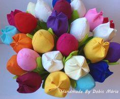 Textil tulipán (23cm) (DobisMaria) - Meska.hu