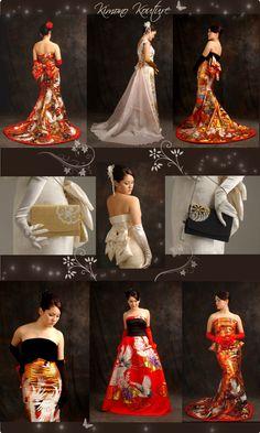 Japanese Wedding Traditions? : wedding Modern Kimono Wedding Gowns By Anna Niponica Wedding Nouveau