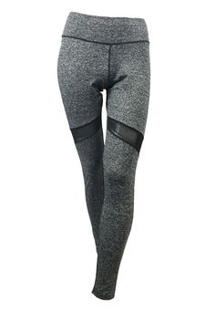 Amazon.com: Sue&Caleb Yoga Pants - Mesh Blocked Stylish-Contrasted Waist band- High Waist Tummy Control Leggings: Clothing