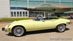 Car brand auctioned:Jaguar E-Type XKE 1973 Car model jaguar xke series iii v 12 convertible classic ots numbers match video