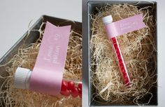 Homemade Valentine Cards: Love Potion from Dandee Designs ..... Easy Valentine's Ideas for Kids (or the Crafting Clueless)