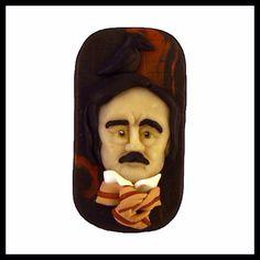 Edgar Allan Poe Broş Tasarımcı: Arzu Kozan Materyal: Polimer kil ÜRÜN YALNIZCA BİR ADET MEVCUTTUR! Tasarımlar %100 el yapımıdır. Bu sebeple küçük farklılıklar gösterebilir. Ölçüler: 3 x 5,5 cm Ücretsiz Kargo #edgarallanpoe #poe #handmade #brooch #pin #polymerclay #poetry #theraven #gothic #poeart #raven #nevermore #books #üçkırkbeş #atölyeüçkırkbeş #elyapımı #elyapimi #polimerkil #broş #kitap #şiir #gotik #dreamershm #dreamershmcom #shopier