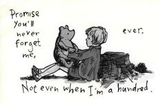 Winnie the Pooh.makes me cry when Christopher Robin leaves Pooh and the rest in the Hundred Acre Wood to grow up. Great Quotes, Quotes To Live By, Me Quotes, Inspirational Quotes, Qoutes, Cutest Quotes, Psycho Quotes, Quirky Quotes, Crazy Quotes