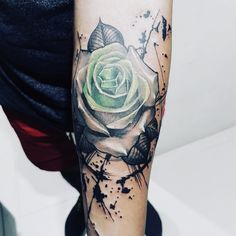 7feabe563610 Flower and Compass tattoo Lace Rose Tattoos, Lace Tattoo, Compass Tattoo,  Watercolor Tattoo