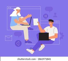 Call Teams: vetores, imagens e arte vetorial stock | Shutterstock Shutter, Creative Business, Family Guy, Guys, Movies, Movie Posters, Fictional Characters, Vector Art, Vectors
