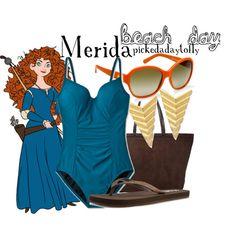 """""""Merida"""" swimsuit by pickedadaytofly on Polyvore"""