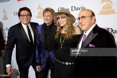 Garry Kief, Barry Manilow, Carly Simon and Clive Davis.