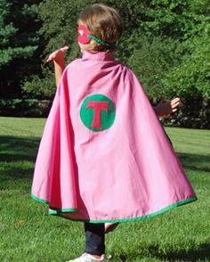 Kids Personalized Super Hero Cape   $34.95