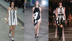 Les 20 tendances robes de l'été 2015: noir et blanc graphique