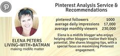 Pinterest Analysis Service & Recommendations