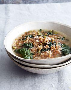Greens + Grains Soup | Leite's Culinaria
