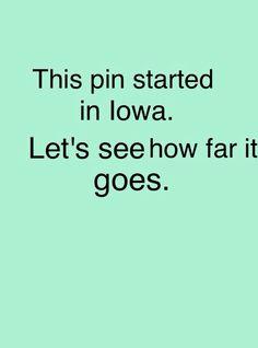 Iowa>Ontario>North Dakota> Illinois>Minnesota!