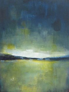 Original acrylic painting Art abstract landscape painting