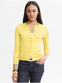 Women's Apparel: sweaters | Banana Republic There you are new yellow cardi