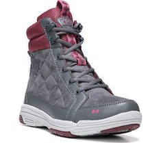 Ryka Womens Aurora BootIron GreyRhododendronFuchsia PurpleUS 12 W -- You can get additional details at the image link.