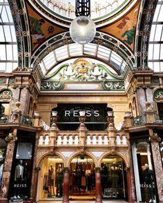 #Leeds is a city with a rich #retail #heritage Leeds #Market has been around since 1822 Marks & Spencer were established in Leeds in 1884 and supermarket chain Asda began operation in the city in 1949. Today Leeds has been named the best #shopping destination in the U.K. By Rough Guide and has over 1000 #shops in the #city. This week I went for a walk to explore some of the architecturally and visually rich retail sites that exist in Leeds. Here is a part of the County Arcade in the Victoria…