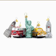 Add this to the list of stuff that I NEED!!!  little ny christmas decoration by bombki | notonthehighstreet.com
