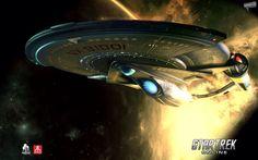 Sovereign Class Refit from Star Trek Online.