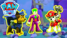 Paw Patrol Saves Adventure Bay From the Jokers Jelly Bean Machine