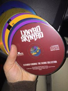 Lynyrd Skynyrd and mixed CDs. Throwing it back!