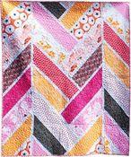 Image of Broken Herringbone Quilt pdf quilt pattern