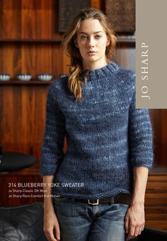9aa3cc199 Jo Sharp Coco Raglan Sweater - Pattern Download Knitting Pattern ...