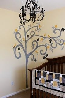 DIY Mural for Nursery
