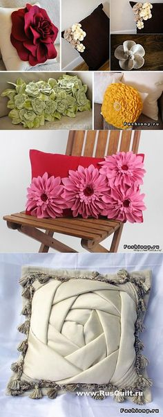 Различные декоративные подушки и их мастер класс | Хвастуны и хвастушки