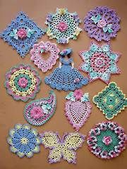 Crochet Downloads for the Home - Dainty Little Doilies