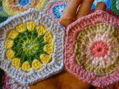 Cómo coser grannies (Español) <3 <3