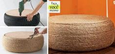 Just in time for Easter Baskets.  You can turn your old tires into wicker baskets. www.buyautoparts.com