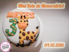 Sweet Cucas and Cupcakes by Rosângela Rolim: Mini Bolo Mesversário!!