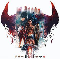 #justiceleague FanArt #DCComics #Comics #WonderWoman #Batman #Superman #TheFlash #Aquaman #Cyborg #Marvel&DCUnited Marvel & DC United