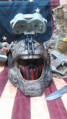 Finished Painted Custom ODST Operator Helmet Halo by HeadShotProps