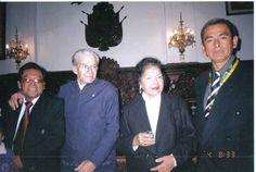 Despedida de Ica, (Junio de 2004) Alfredo Robles, papa y mama.